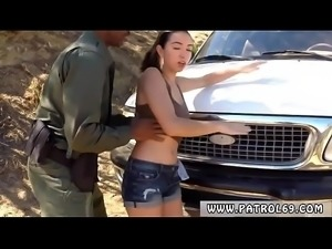 Fake cop hooker and good bad Latina Babe Fucked By the Law