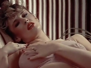 LINGERIE DAYDREAM - vintage 80's big tits in stockings
