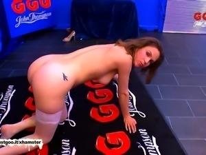 Dirty Luisa takes on an Army of Cocks -  German Goo Girls