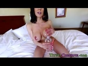 Ass fingering busty milf