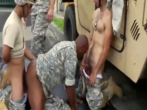 Men fuck in army showers gay Explosions  failure  and punishment