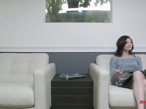 Jessica Rex is totally obsessed with her BF's dick and she wants his cum