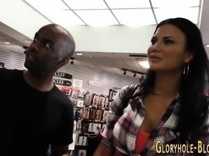 Anal fucked gloryhole ho