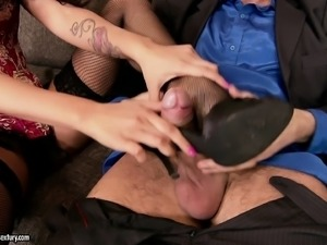 Horny dude can't wait to stick his hard manhood into a young girl