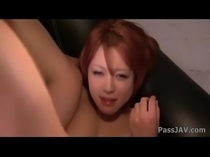 Big titty Sara lying on a horny guy her pussy fingered until she is soaking wet.