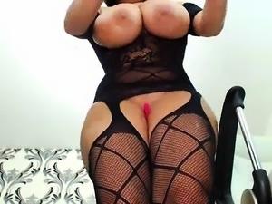 Big boobs brunette alia sucks gloryhole dick