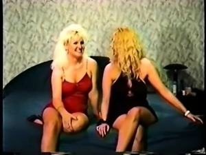 two blonde whores fuck so nice