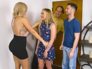 Luzbel bugatti flirts with her mom039s bf - 1 part 6