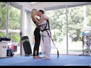She has progressed greatly in her skills of martial arts, but she still can't...