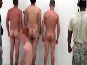 Male military naked and gay roman soldier movie The Hazing  The Shower