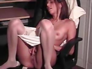 Maria masturbating in pantyhose #2