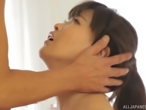 Stunning Japanese woman is in need of a hunk's cock