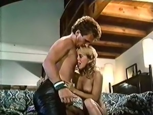 Sweet and cute blonde vintage babe is so easy for sex