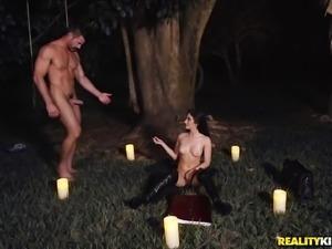 Amazing fucking game with stunning brunette Jasmine Vega