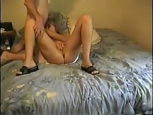 Blonde whore pumps my cock before we fuck in a missionary position