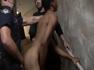 Cops glory hole gay videos xxx Suspect on the Run  Gets Deep Dick