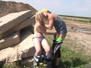 Lenna is a girl who loves fucking outdoors and she is an anal slut