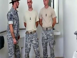White gay hot army men chat Good Anal Training