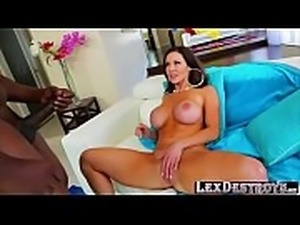 Voluptuous mature Kendra Lust bangs Lexingtons big black cock