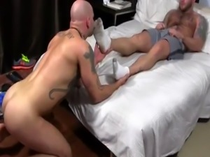 Twink glory hole gay sex movie first time Brothers Brayden & Drake