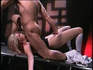 Fucked in crazy positions and creamed after wild banging