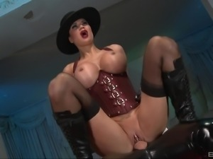 Jasmine Jae is a horny mistress craving an erected cock