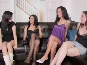 WANKZ- Lesbian Party of Four
