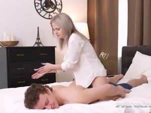 Palatable beautiful GF Herda Wisky goes crazy during missionary fuck