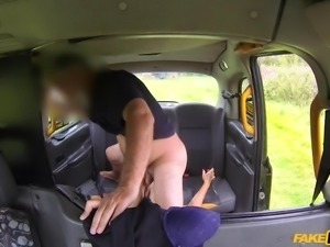 I do not know if she was surprised that the taxi driver stuck his dick in her...