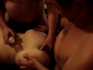 Sexy mature amateur cuckold housewife getting ready