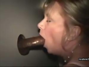 Black cocks fors my glory hole wife
