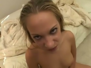 Slim minx Jamie Elle is a crazy whore and she fucks with such enthusiasm
