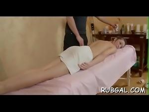 Blowjob, massage and wild sex