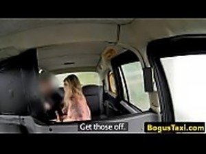 Beautiful british amateur fingered by cabbie