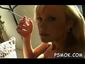 Smokin&#039_ and deepthroating
