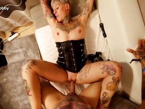 My Dirty Hobby - Mature tattoed babe gets slammed