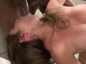 This dude is hung like crazy and Felony seems to be enjoying her lover's BBC