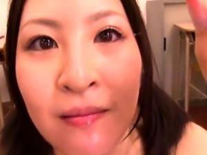 Kinky Oriental ladies swallow heavy loads of hot semen