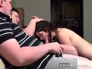 Fat brothers double team a chunky MILF