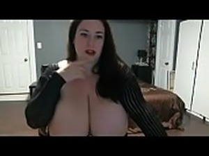 Super big boobs milf on webcam chat