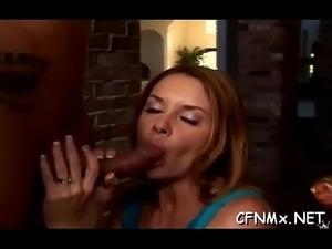 Naughty hottie fucked hard