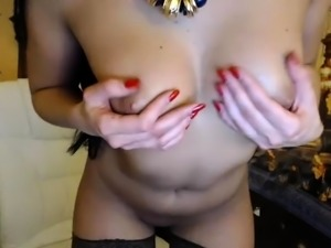 Sexy Webcam Bitch With Big Boobs And Lingerie