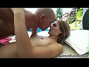Teens vag tasted by perv