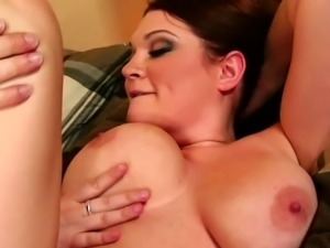 Heavy ravished pussy of Randy Filly pussy looks little full