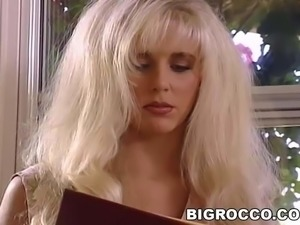 Vintage porn with Rocco and an ebony
