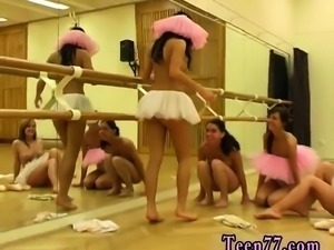 Solo blonde shower squirt Hot ballet woman orgy