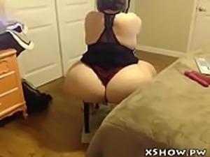 Cute Plump Slut Orgasm On Web Cam
