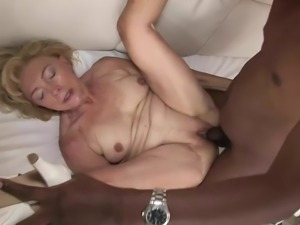 Granny wants the black cock