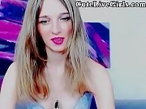 18 Teen College Webcam POV Live Jasmine CuteLiveGirls.com Cute