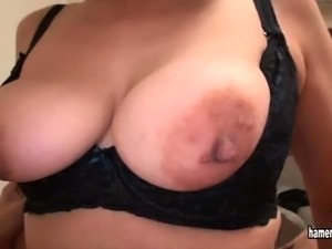 Big boobs slut nipples licked